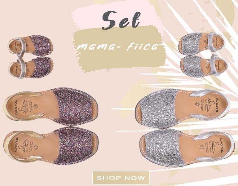 Mobile-Set Mama - Fiica-Glitter