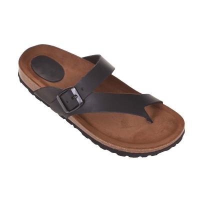 Sandale Romane din piele naturala neagra - Taipa