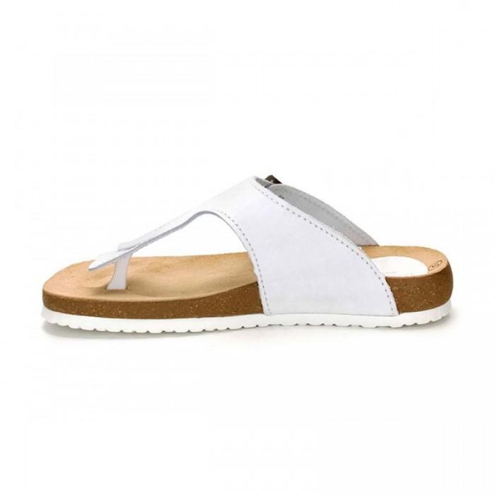 Sandale din Piele Naturala Alba - Armida