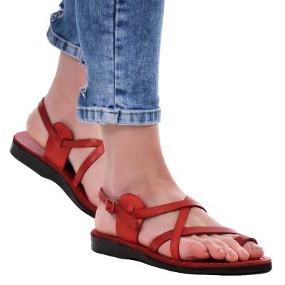 Sandale Romane din piele naturala Rosie - Letty
