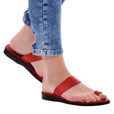 Sandale Romane din piele naturala Rosie - Jolie