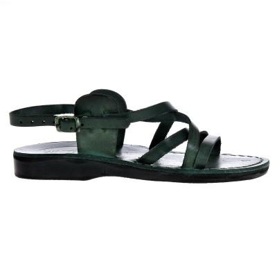 Sandale Romane Unisex din piele naturala Verde - Dante