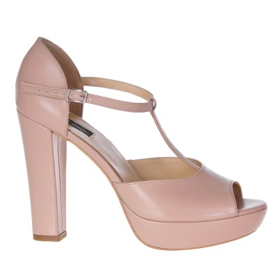 Sandale Dama Piele Naturala Bej - Cod N30