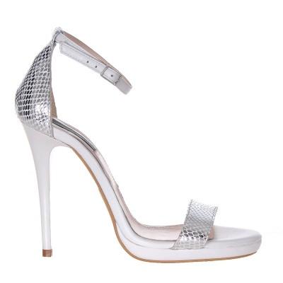 Sandale Dama Piele Naturala Imprimeu Sarpe - Cod N59