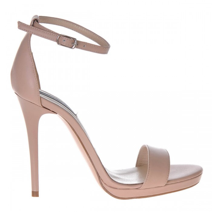 Sandale Dama Piele Naturala Bej - Cod N80