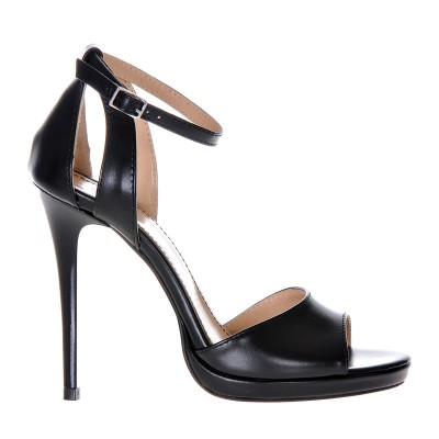 Sandale Dama Piele Naturala Neagra - Cod N57