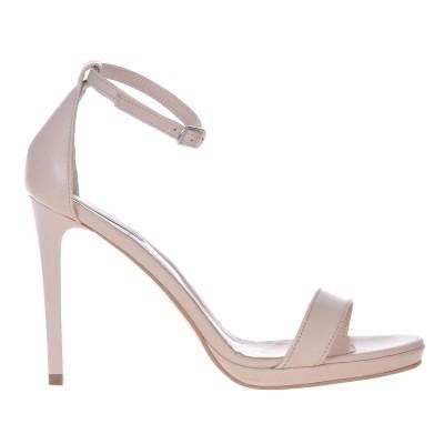 Sandale Dama Piele Naturala Nude - Cod N56