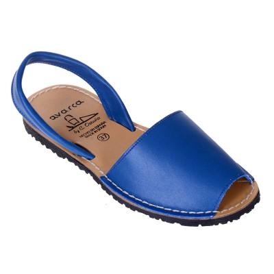 Sandale AVARCA din Piele Albastra