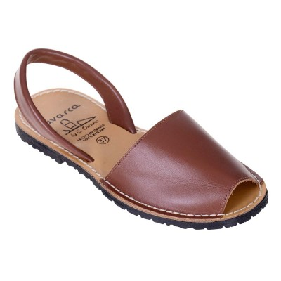 Sandale AVARCA din Piele Maro