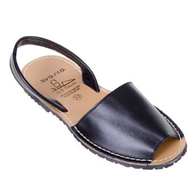 Sandale AVARCA din Piele Neagra