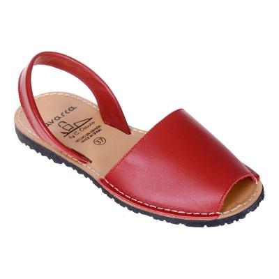 Sandale AVARCA din Piele Rosie