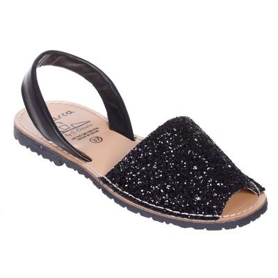 Sandale AVARCA din Glitter Negru