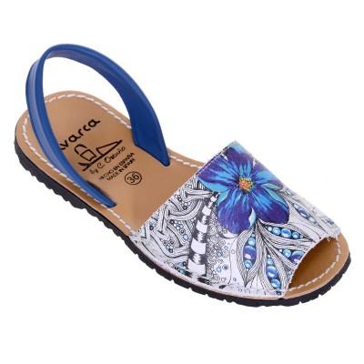 Sandale AVARCA din Piele Naturala Multicolora - Cielo