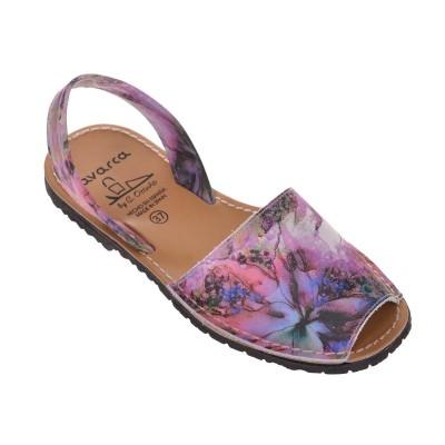 Sandale AVARCA din Piele Naturala Multicolora - Jody