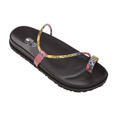 Sandale minimale de Dama Imprimeu Colorat - Miriam
