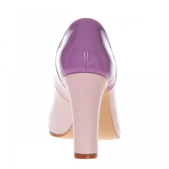 super calitate vânzare cu reduceri brand popular Pantofi Office Piele Naturala Nude Mov Lila - Cod S199