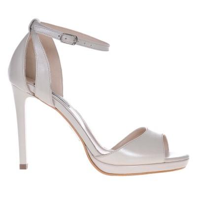 Sandale Dama Piele Naturala Ivory - Cod N99