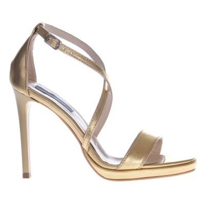 Sandale Aurii de Dama din Piele Naturala - Cod N101